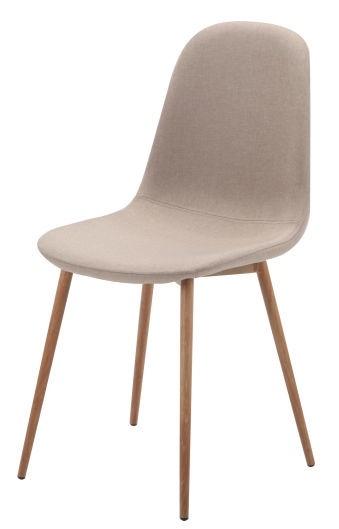 Ēdamistabas krēsls Signal Meble Fox Beige, 1 gab.