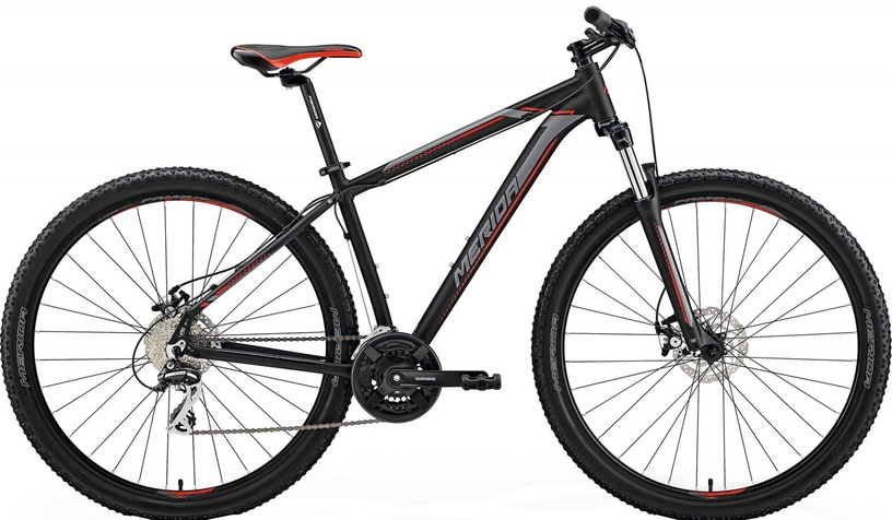 "Merida Big Nine 20-MD 17"" Black/Red 2018"
