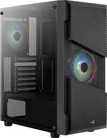 Aerocool Menace Saturn RGB ATX Mid-Tower Black