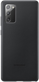 Samsung Leather Cover Black for Samsung Note 20