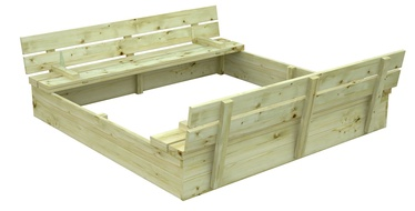 Smilšu kaste 4IQ, 137x137 cm