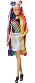 Lelle Mattel Barbies Rainbow Sparkle Hair FXN96