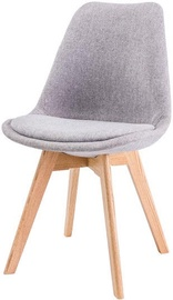 Ēdamistabas krēsls Signal Meble Dior Light Gray, 1 gab.