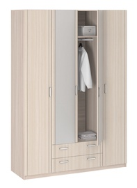 Borovichi Mebel Lotos 8.041 Wardrobe w/ Mirror Ash