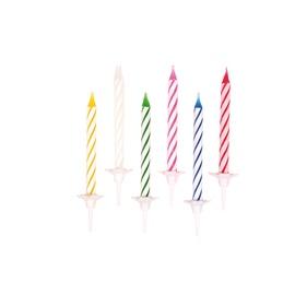 Dzimšanas dienas svece Esperanza 5053, 24 gab.