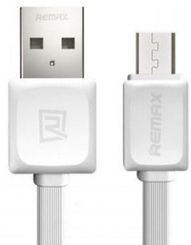 Remax Super Flat Universal Micro USB Cable 1m White