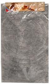 Vannas istabas paklājs Besk Polyester Gray, 800x500 mm