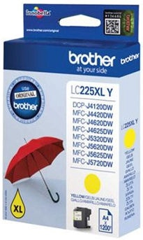 Brother LC225XLY Yellow