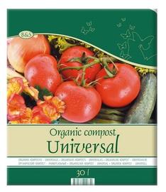 Organisks universālais komposts Biohumus & Soil, 30L