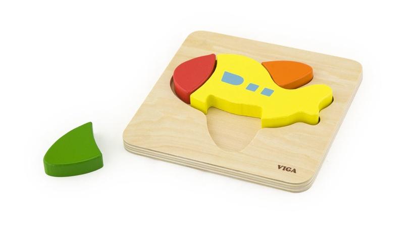 Koka puzle VIGA Plane 50173