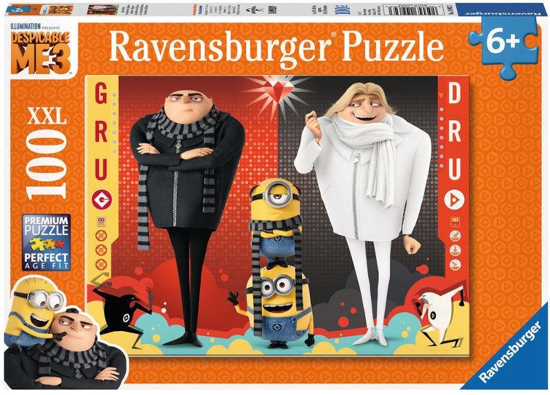 Puzle Ravensburger XXL Despicable Me 3 10962, 100 gab.