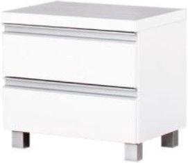 Ночной столик Bodzio Aga AG42, белый, 45x36x42 см