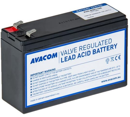 Avacom Battery For UPS Replacement For RBC106