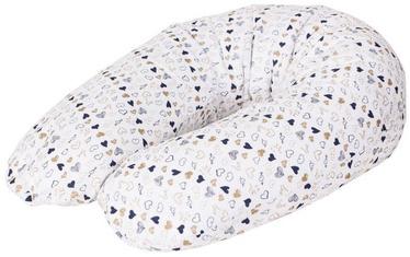 Подушка для кормления Ceba Baby Physio Multi Jersey Amore, белый