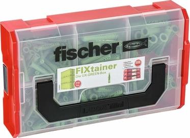 Fischer FIXtainer UX Dowel Box 210pcs Green