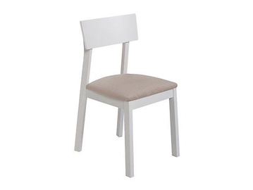 Ēdamistabas krēsls Black Red White Nina Beige/White
