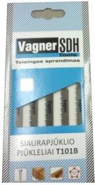 Figūrzāģa asmeņu komplekts Vagner SDH HC12, 5gab.