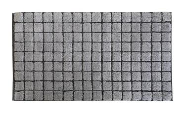 Vannas istabas paklājs Saniplast Plaza Perla, pelēka, 1100 mm x 600 mm