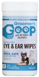 Groomer's Goop Eye & Ear Wipes 20pcs