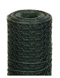 Garden Center Galvanized Wicker Mesh Green 0.8x25x1000mm 25m