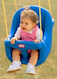 Little Tikes High Back Toddler Swing Blue