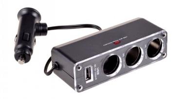 ExLine Car Socket splitter + USB 500mAh