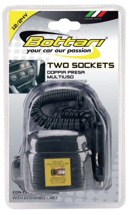 Bottari Two Sockets 12/24V 30077