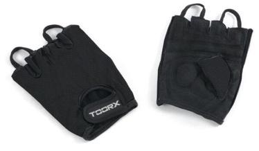 Перчатки без пальцев Toorx AHF235, черный, L