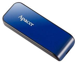 USB atmiņas kartes Apacer AH334 Blue, USB 2.0, 32 GB