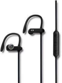 Беспроводные наушники Qoltec Sports Bluetooth 50826 Black