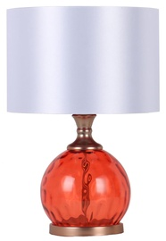 Home4you Luxo Table Lamp 45cm Red Glass