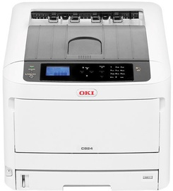 Светодиодный принтер Oki C834dnw, цветной