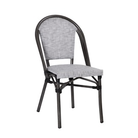 Home4you Latte Garden Chair White/Gray