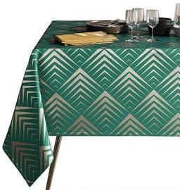 Galdauts AmeliaHome Piramides, zaļa, 2200 mm x 1400 mm