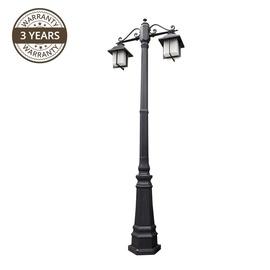 Lampa Domoletti Matrix 065-PL-2, 2 gab., 60W, e27, IP43, melna