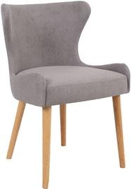 Ēdamistabas krēsls Home4you Emerald, pelēka