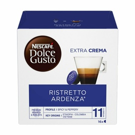 Кофе в капсулах Nescafe Coffee Dolce Gusto Ristretto Ardenza, 112 g., 16 vnt.