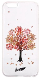 Beeyo Blossom Back Cover For Huawei P8 Lite Red Tree Transparent