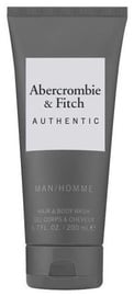 Abercrombie & Fitch Authentic Man Hair & Body Wash 200ml