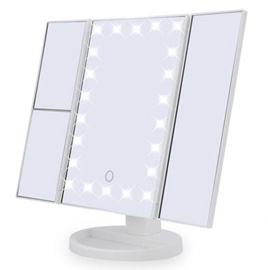 Superstar Magnifying Mirror with LED Lights White