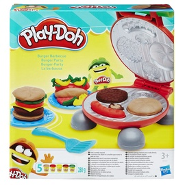 Rotaļlieta modelīns Play-doh Burger Party B5521