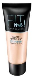 Тональный крем Maybelline Fit Me Matte + Poreless 105 Natural Ivory, 30 мл