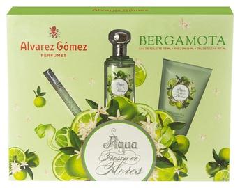 Komplekts sievietēm Alvarez Gomez Agua Fresca De Flores Bergamota 3pcs Set 235ml EDT