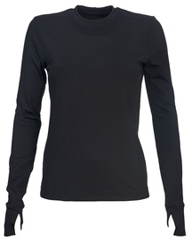 Bars Womens Long Sleeve Shirt Black 66 S