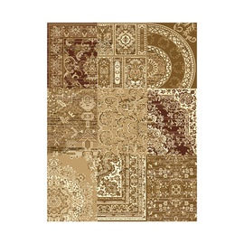 Paklājs Shiraz 1572 B55, 1.20x1.70m, brūns