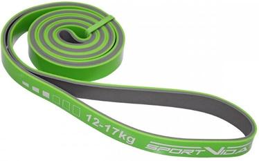 Slodzes gumija SportVida Fitness Rubber Power Band 2080x20x4.5mm Green