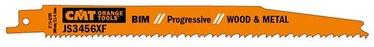 Taisnā zāģa asmens CMT JS3456XF Sabre Saw Blades 5pcs