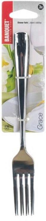 Banquet Grace Forks 3pcs 20.5cm