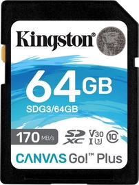 Kingston Canvas Go! Plus 64GB SDXC UHS-I Class10