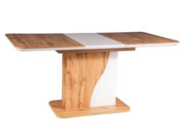 Обеденный стол Signal Meble Syriusz Wotan Oak, 1200x800x760 мм
